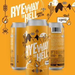 Ryeway To Hell - Double Rye IPA - 473ml - Kumpel