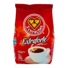 Cafe tres coraçoes extra forte 250g