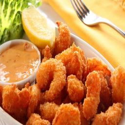 Combo de camarão à milanesa + 2 und cerv