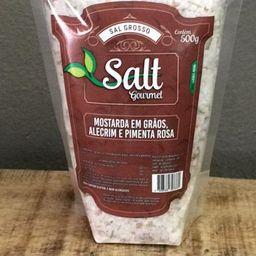 Sal Grosso Mostarda Em Grãos Alecrim e P