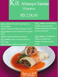 Kit almoço/ jantar