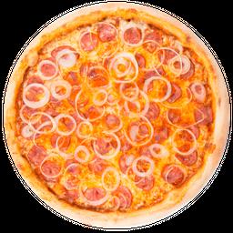 Pizza de Calabresa com Queijo