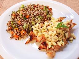 Congelado - filé frango e cuscuz quinoa