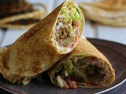 Sanduíche de Falafel (Vegano)