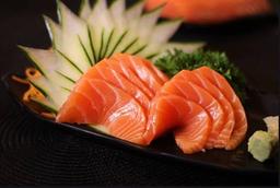 Sashimi de Salmão - 6 Peças