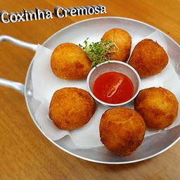 Coxinha Cremosa - 6 Unidades