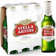 Stella Artois Long Neck Pack C/6