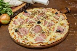 Pizza de Lombo Canadense Catupiry