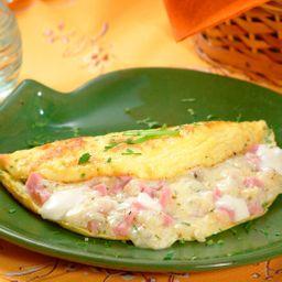 Omelete Pizza