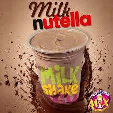 Milkshake 400ml (sabores Nutella)
