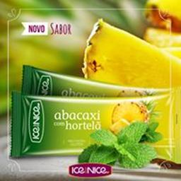 Abacaxi com hortelã  - picolé gourmet 65g