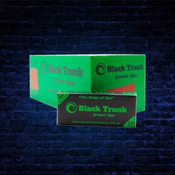 Black Trunk Brown Tips 20mm