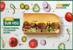 Sub Vegano - 15cm