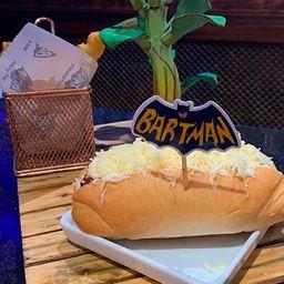 Hot Dog Retrô com Batata Frita