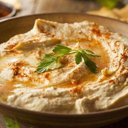 BabaGhanoush ( Pasta de Berinjela Defumada com Tahine ) + 1 Pão