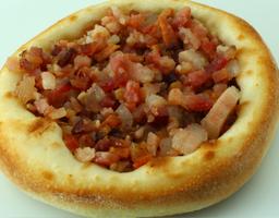 Esfiha de Carne com Bacon