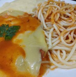 Parmegiana de Frango - Serve 2 Pessoas