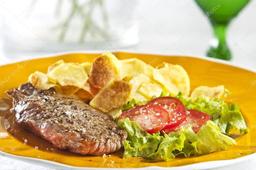 Minipack Bife com Fritas