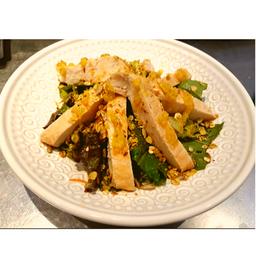 Caesar salad by its
