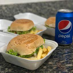 Combo 2 Mini Hambúrgueres Artesanais