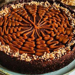 Torta de Caramelo de Amendoim