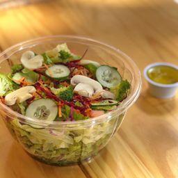 Monte sua Salada Veggie