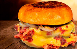 Angus Blast Thickburger  Picanha C/ Fritas  (170 G. de Carne)