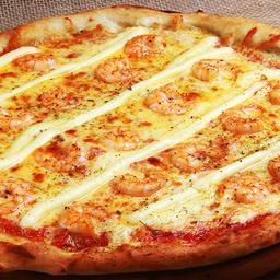 Pizza de Camarão com Catupiry - Grande