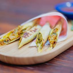 Harumaki Grelhado de Abóbora+gorgonzola
