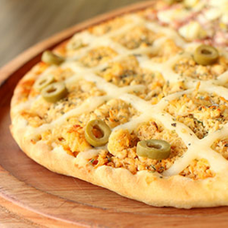 Pizza individual 2 sabores