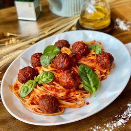 Linguini Polpette - Serve 2 Pessoas