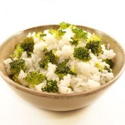 Porção de Arroz com Brócolis