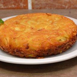 Batata Suiça Frango com Cream Cheese