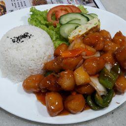 咕噜鸡丁饭 Combo 10