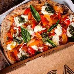 Pizza Burrata e Pesto