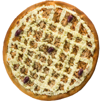 Pizza de Atum (c/ mussarela)
