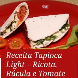Rúcula, Tomate, Azeite de Oliva Extra, Vinagrete Seco e Orégano