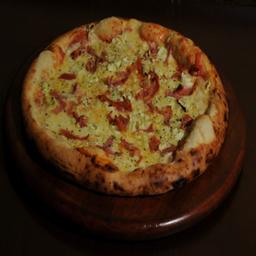 Pizza Alho-Poró - Individual