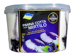 Panna Cotta de Mirtilo