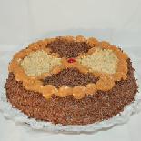 Torta de Brigadeiro com Nozes 25cm