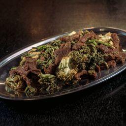 Carne com Brócolis Individual