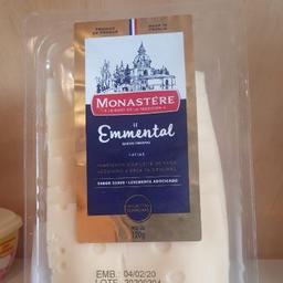 Emmental Fatiado Monastere - 120g