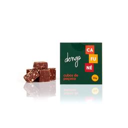 Cubos de chocolate ao leite e paçoca 50g
