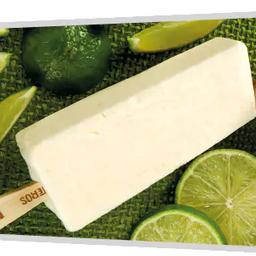 Paleta de Mousse de Limão com Leite Condensado