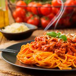 614 - spaghetti à bolonhesa