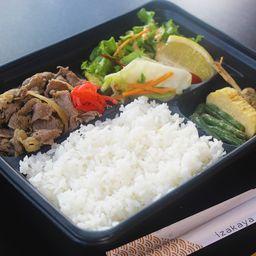Obento Gyu-sara(牛皿弁当)