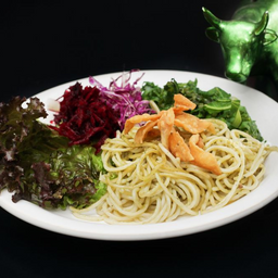 Espaguete Expresso com Pururuca