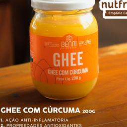 Manteiga Ghee com Cúrcuma 200g
