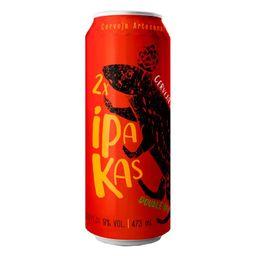 Cerveja Pakas 2xipakas Double IPA 473ml