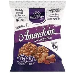 Amendoim com whey protein